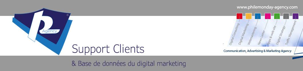 Support & Digital Marketing Data Base